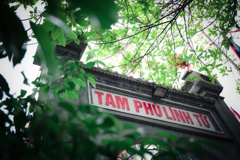 Cảnh Đền Lâm Du ( Photo : Lâm Phong )